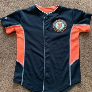 Small size 8 child's San Francisco giants jersey